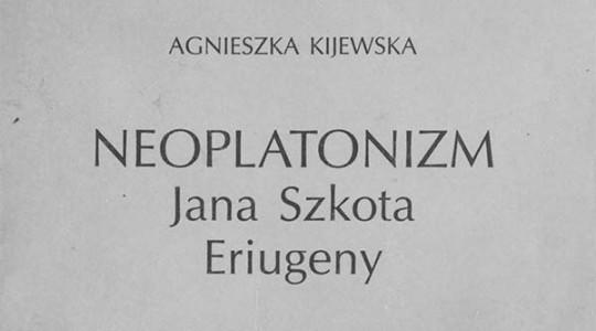 Czytelnia online: Neoplatonizm Jana Szkota Eriugeny