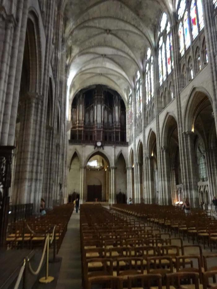 Katedra Saint Denis // fot. K. Kijewski