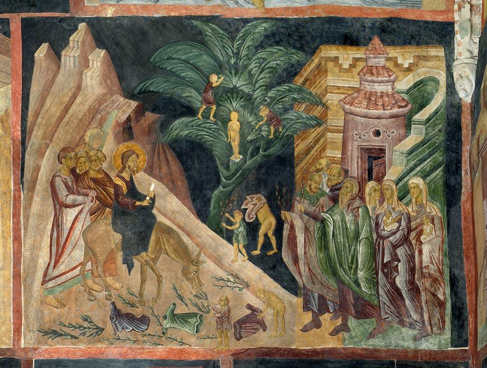 Wjazd do Jerozolimy, 1418, pracownia mistrza Andrzeja, fot. P. Maciuk