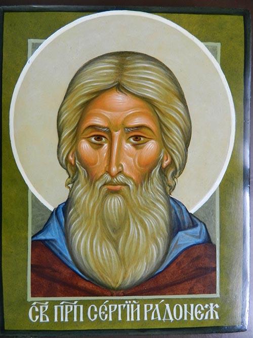 <i>św. Sergiusz z Radoneża</i>, wyk. Maciej Leszczyński.