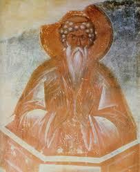 Teofan Grek, św. Olimpus, Nowogród 1378.
