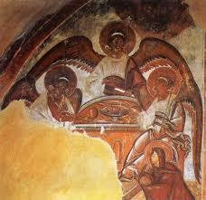 Teofan Grek, Trójca Święta, Nowogród 1378.