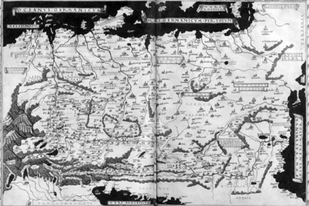 Kartograf i mapa