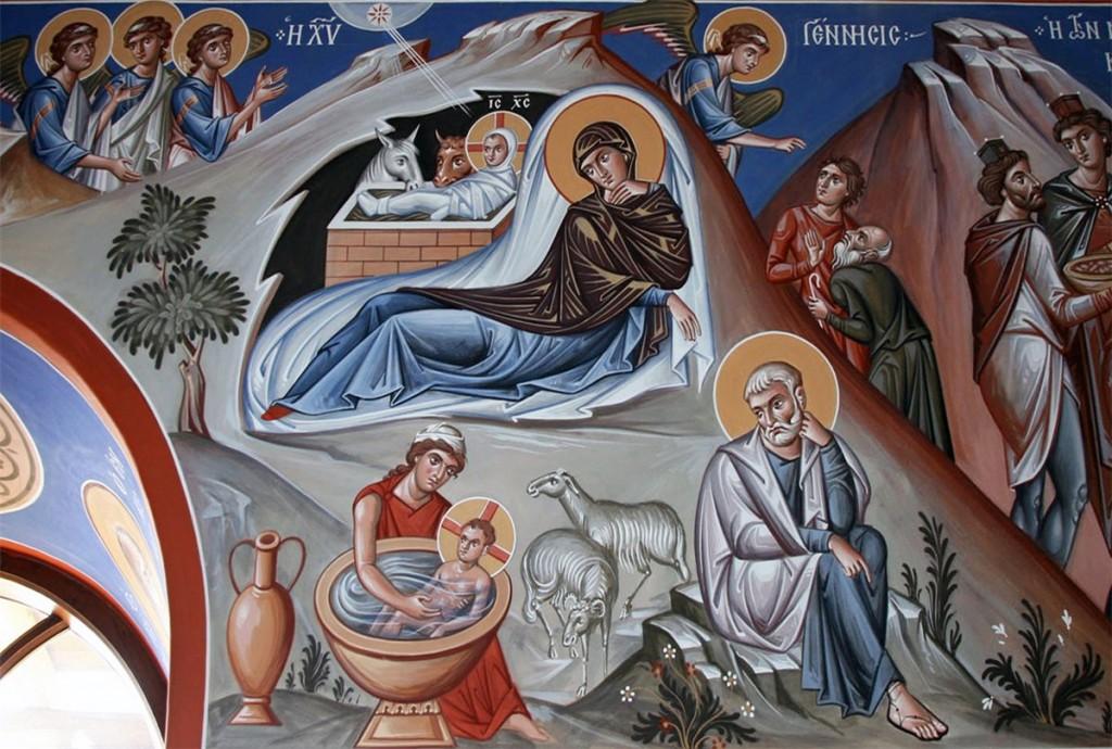 Narodzenie Pańskie,Athos, wyk. archimandryta Zenon.
