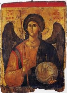 Św. Michał Archanioł, XIV wiek, Bizancjum
