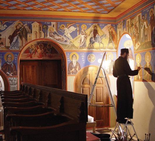 o. Zenon, Dolny kościół Fiodorowskiego soboru Sankt Petersburg