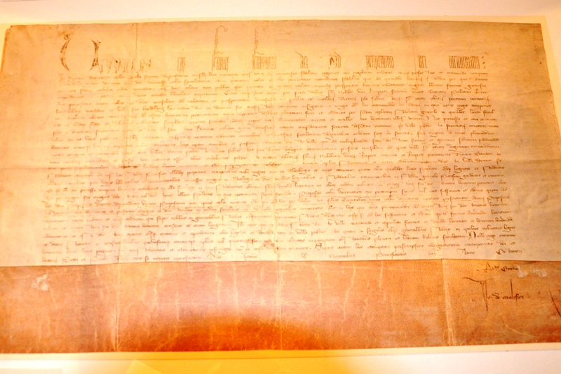 Bulla założycielska papieża Urbana VI wydana 23 października 1385
