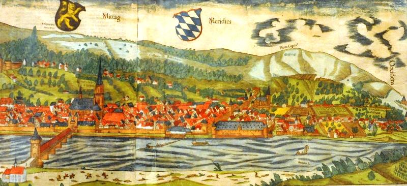Heidelberg na dawnej grafice