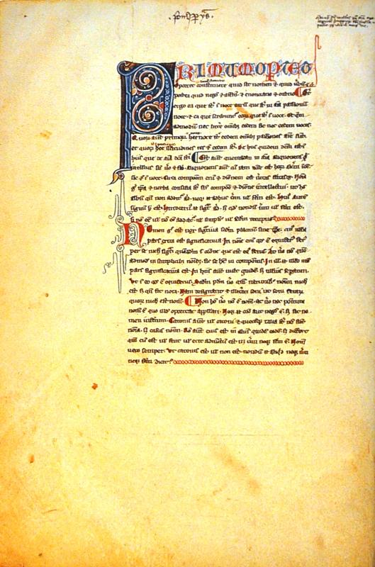 Arystoteles, Organum i Etyka, Francja, koniec XIII wieku