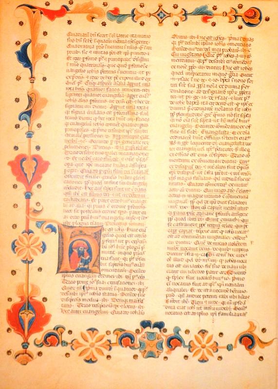 Mikołaj z Liry, Postylla, Italia, XIV wiek