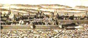 Hildesheim. Tutaj z polecenia Kuzańczyka zawieszono w kościele drewnianą tablicę z tekstami modlitw w języku niemieckim (tzw. Vaterunsertafel)