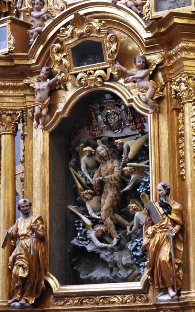 Ołtarz Marii Magdaleny z katedry śś. Janów w Toruniu