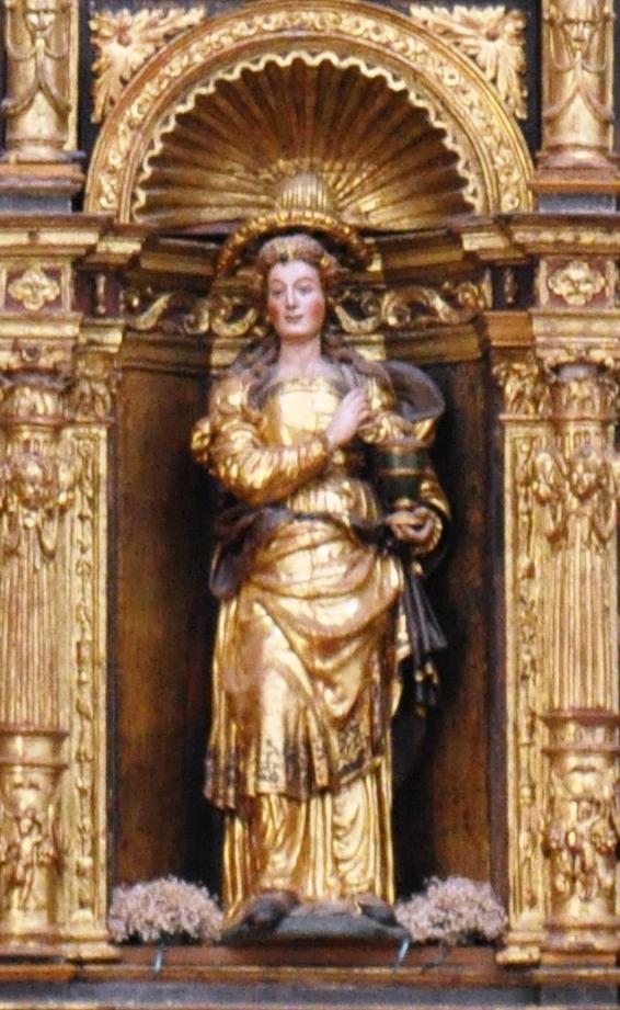 Figura Marii Magdaleny z kościoła św. Marii Magdaleny w Tarazonie (Hiszpania)