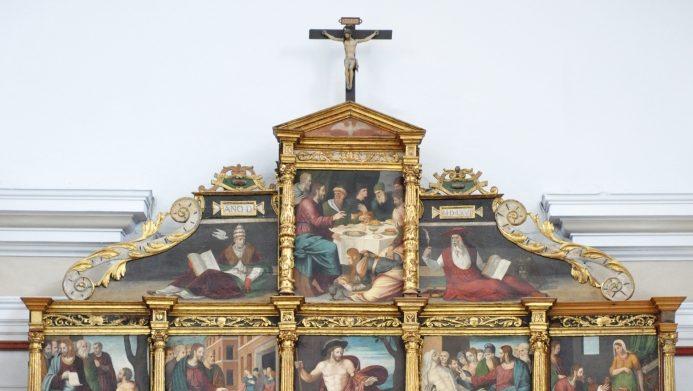 Ołtarz główny z kościoła św. Marii Magdaleny w Tarazonie (Hiszpania)