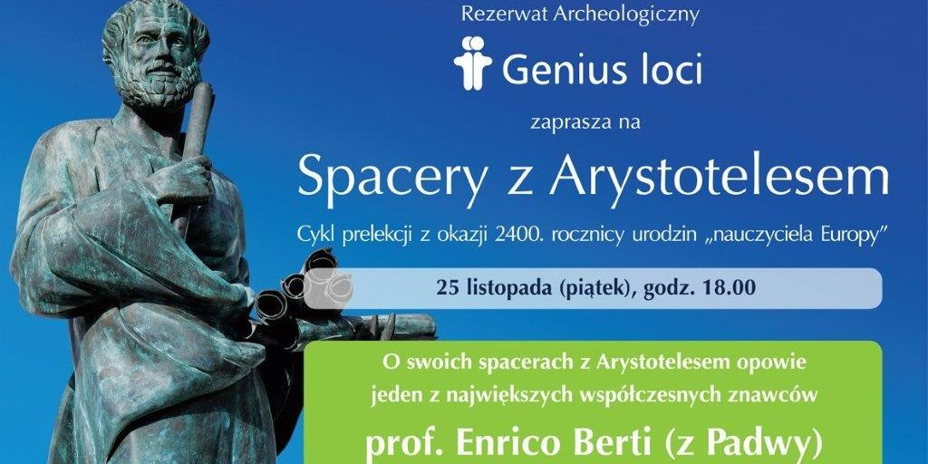 Enrico Berti: Moje spacery z Arystotelesem