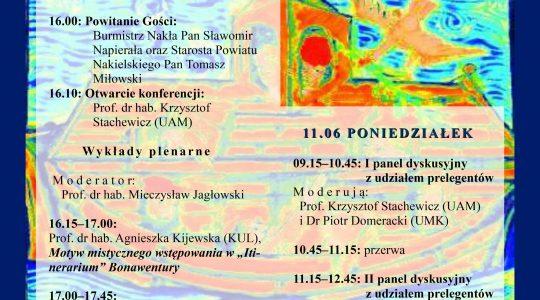 """IV Ogólnopolska Konferencja Naukowa z cyklu """"Filozoficzne aspekty doświadczenia mistycznego"""" pt. """"Doświadczenie mistyczne w rozkwicie średniowiecza. Perspektywa filozoficzna"""" – 10-11.06.2017"""